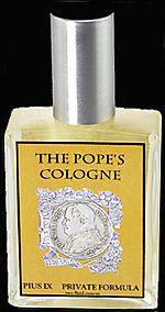 Popes cologne