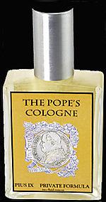Popes cologne