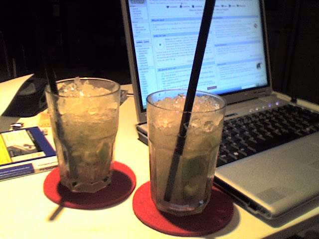 Caipirinhas with Laptop