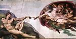 God Creates Adam Sistine Chapel
