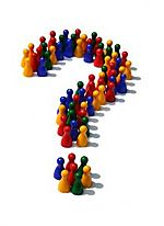 Figures question mark