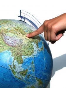 Finger globe