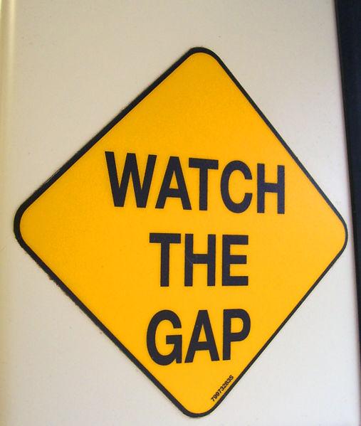Watch the gap
