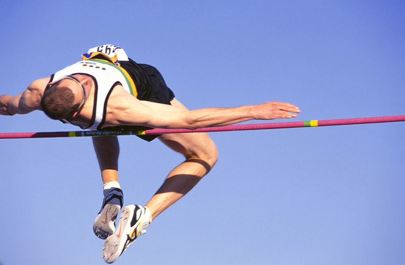 Fosbury high jump