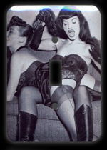Bettie page spank