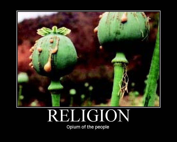 Religion opium