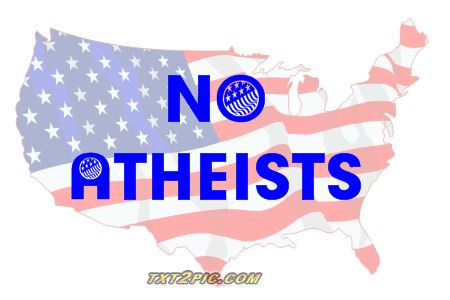 No atheists usa