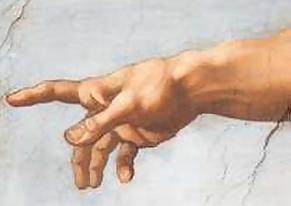 Gods hand