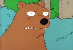 Simpsons Bear
