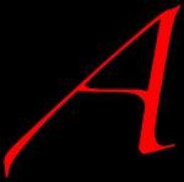 Scarlet letter black background