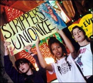 Strippers unionize