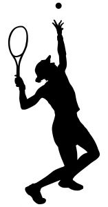 Tennis_silhouette