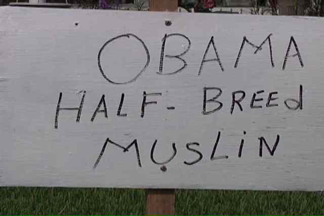 Obama half breed muslin