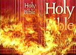 Bible fire
