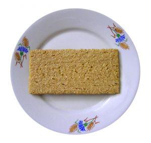 Cracker on plate