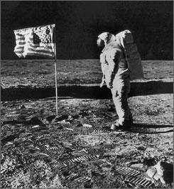 Apollo moon landing