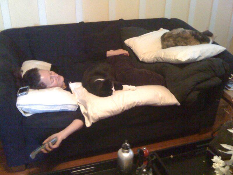 Ingrid Lydia Violet pile of pillows 1