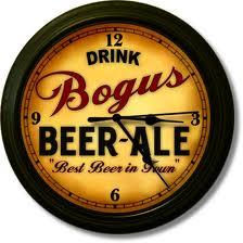 Bogus beer