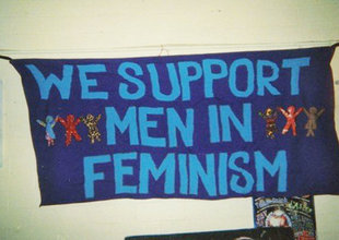 We support men in feminism