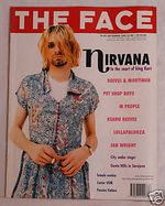 Kurt cobain dress magazine