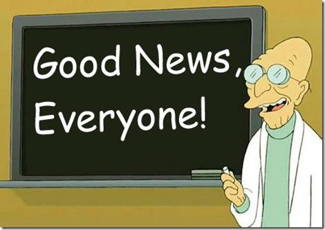 Good news Futurama
