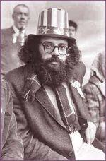 Allen Ginsberg rally