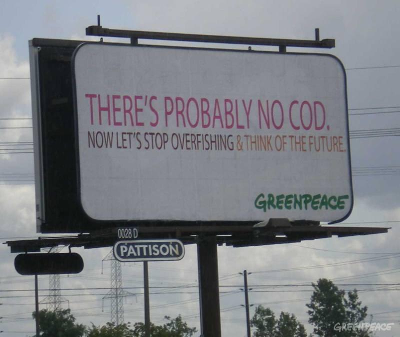 Probably no cod