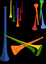 Vuvuzelas.svg