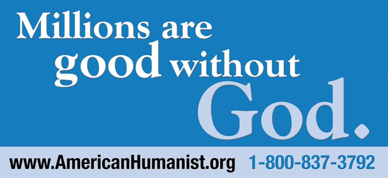 Millions are good without god