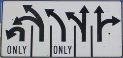 San francisco crazy road sign