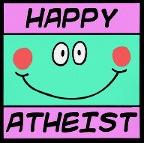 Happy atheist