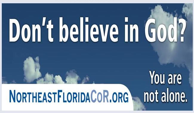 Don't believe in god billboard