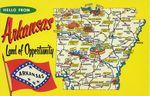 Arkansas postcard