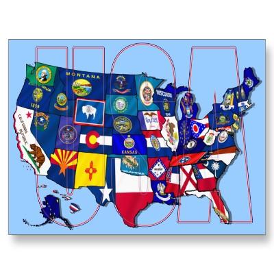 United_states postcard