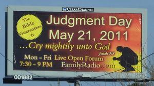 Rapture billboard