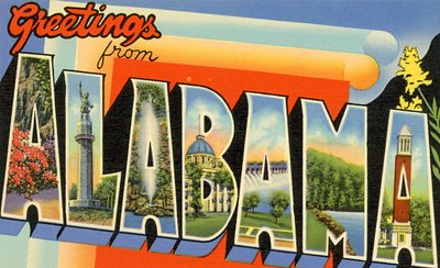 Alabama-Postcard