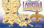 Louisiana-postcard