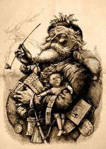 Merry Old Santa Thomas Nast