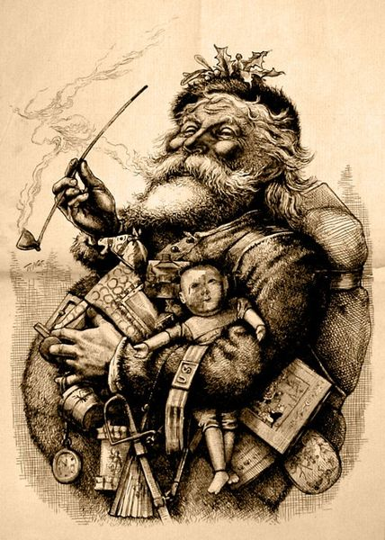 Merry Old Santa Thomas Nast