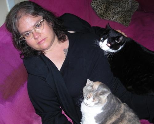 Greta_with_cats